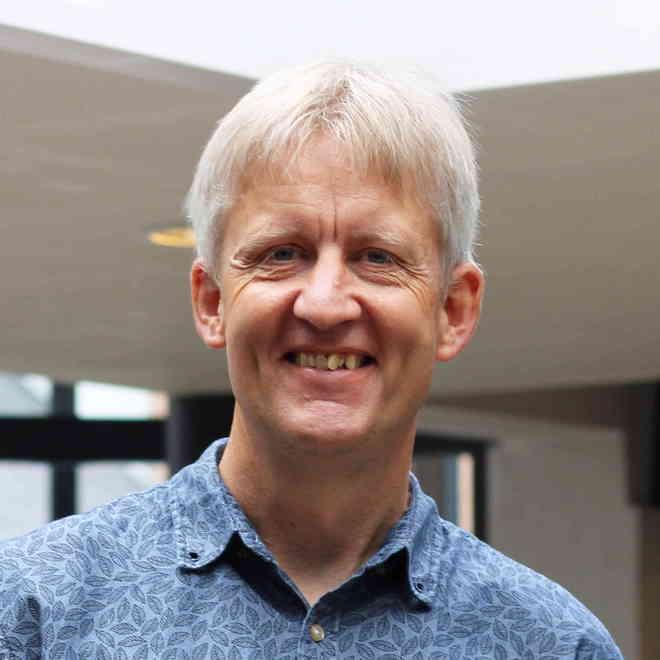 Præst i Bykirken i Vejle Tonny Jacobsen