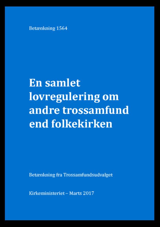 Trossamfundsudvalgets betænkning