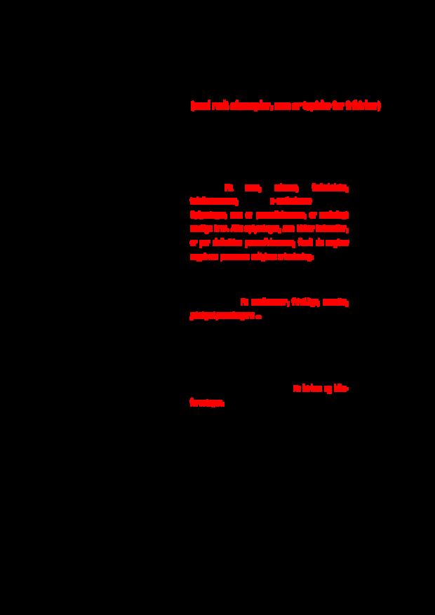 Miniordbog - centrale begreber i databeskyttelsesloven